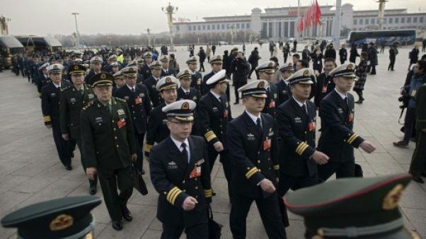 La Chine poursuit la hausse de son budget militaire