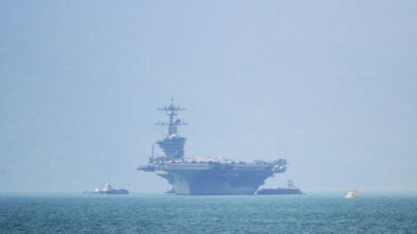 Visite historique d'un porte-avions américain au Vietnam