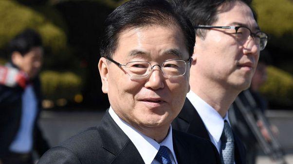 مبعوثو كوريا الجنوبية يلتقون بالزعيم الكوري الشمالي