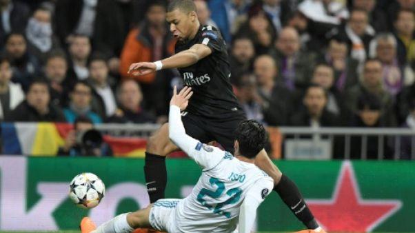 Ligue des champions: Mbappé, ébloui ou éblouissant contre Ronaldo ?