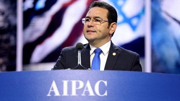 سفيرة جواتيمالا تتفقد مواقع لنقل سفارة بلادها إلى القدس