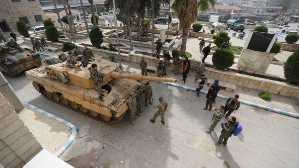 الحكومة السورية تطالب القوات التركية بالانسحاب من عفرين