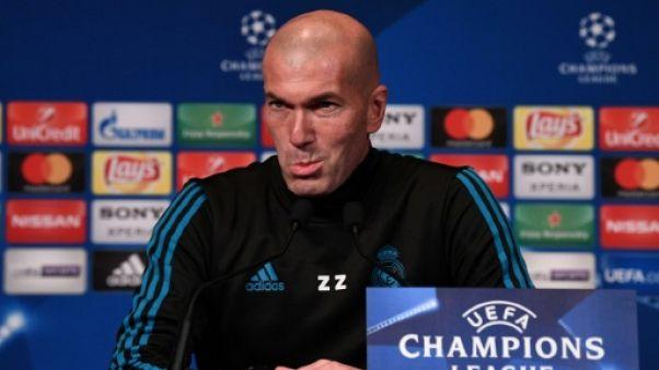 """Zidane: l'absence de Neymar """"change tout et rien à la fois"""""""