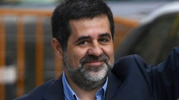 Jordi Sanchez, en prison, officiellement candidat à présider la Catalogne