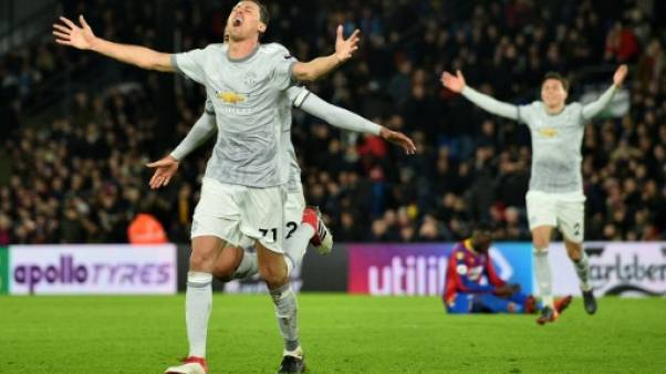 Angleterre: Manchester United renversant contre Crystal Palace