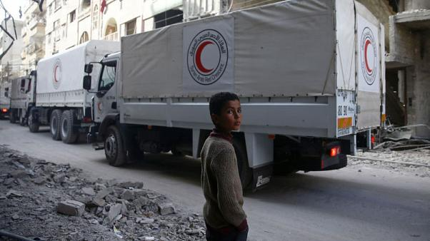 قافلة للأمم المتحدة تحاول الوصول للغوطة الشرقية مجددا هذا الأسبوع