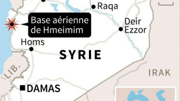 Syrie: un avion militaire russe s'écrase, 39 morts