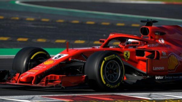 F1: Vettel meilleur temps de la 5e journée des essais de Barcelone