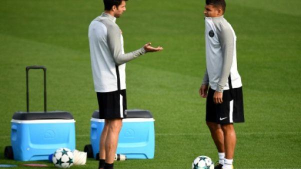 Ligue des champions: Thiago Silva et Motta titulaires avec le PSG, le Real sans Kroos, Modric, ni Bale