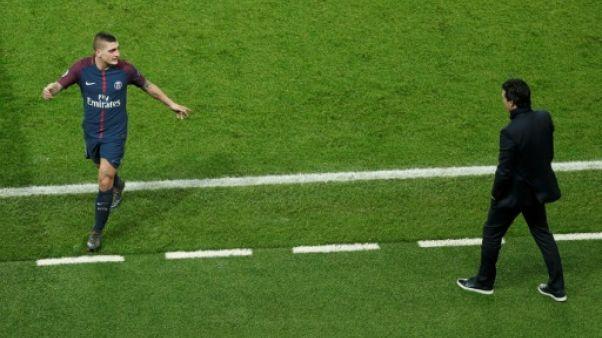 Paris SG: Verratti exclu pour un 2e jaune face au Real Madrid