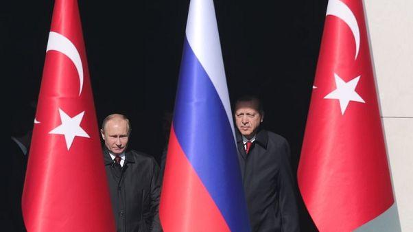 إردوغان: تركيا وروسيا ربما تتعاونان في مشاريع دفاعية بجانب نظام إس-400