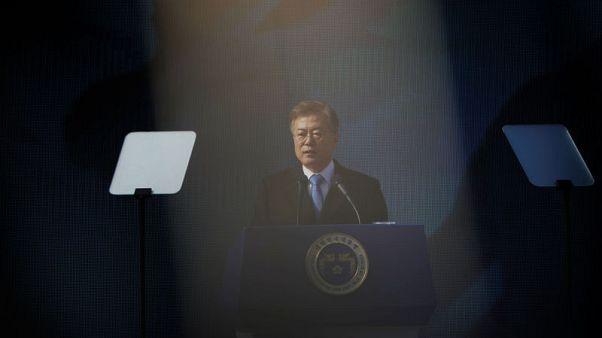 رئيس كوريا الجنوبية: العقوبات على بيونجيانج ستستمر والتفاؤل سابق لأوانه