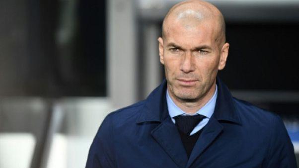 Ligue des champions: Zidane, un coup de maître zen