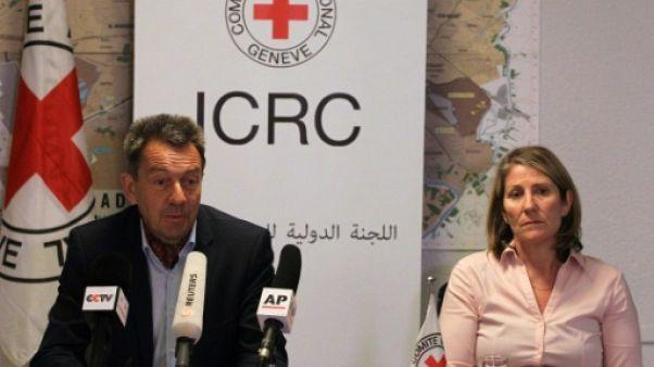 """Le chef du CICR plaide pour la """"réconciliation"""" dans l'Irak post-EI"""
