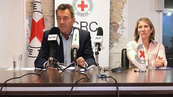 الصليب الأحمر يرى تعاونا من العراق في الوصول إلى أسر مقاتلي الدولة الإسلامية