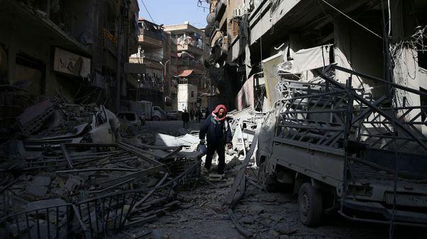 دمشق تكثف هجومها على الغوطة الشرقية بهدف شطرها إلى قسمين