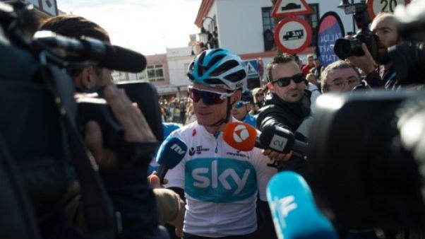 """Cyclisme: """"Un désastre"""" si le cas Froome pas réglé avant le Tour selon le président de l'UCI"""
