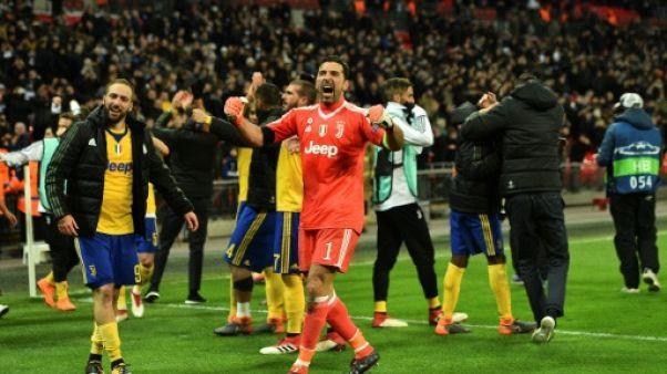 Ligue des champions: la Juventus se mue en tueuse pour renverser Tottenham