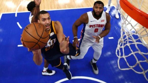 NBA: Toronto et Houston planent, Gobert s'envole