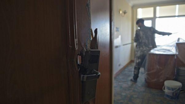 A Kaboul, l'hôtel Intercontinental, attaqué en janvier, rouvre ses portes