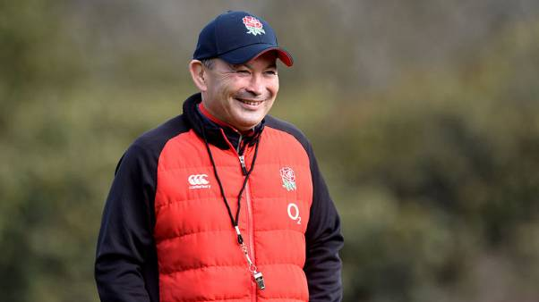 Rugby - England coach Jones apologises for offensive remarks