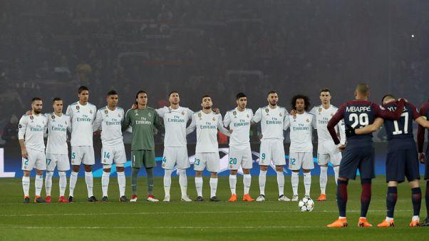 PSG braced for fine from UEFA for fans' behaviour against Real