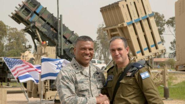 Soldats américains et israéliens manoeuvrent face à de nouvelles menaces