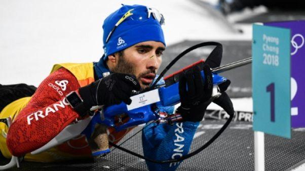 Biathlon: Fourcade forfait pour le sprint de Kontiolahti