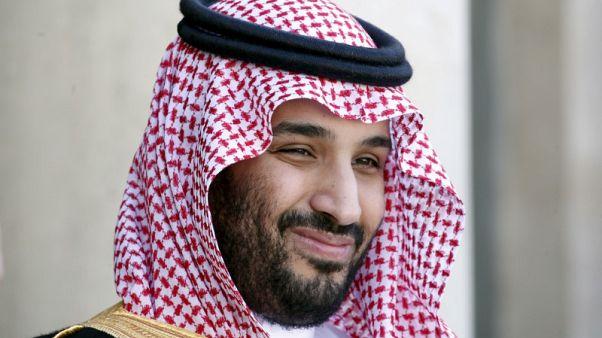 ولي العهد السعودي يجتمع مع وزير المالية البريطاني في لندن