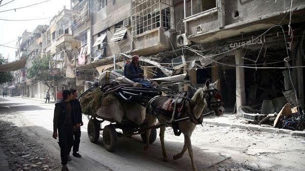 الأمم المتحدة: القتال في الغوطة دفع 50 ألف مدني للنزوح