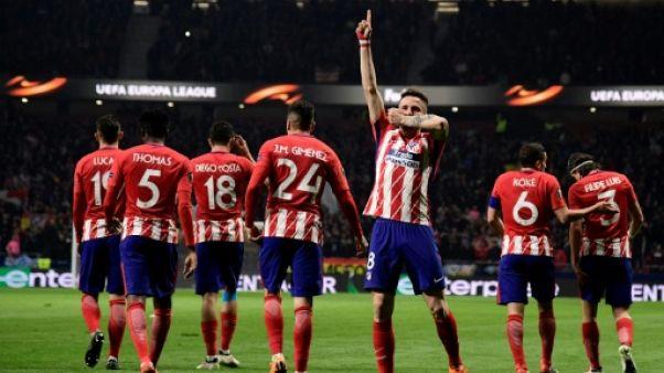 Europa League: l'Atlético sur de bons rails face au Lokomotiv