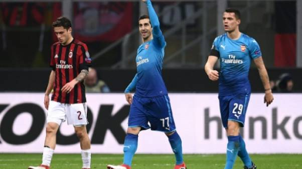 Europa League: Arsenal vit encore et assomme le Milan
