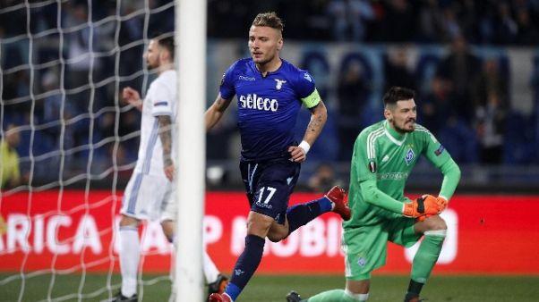Europa League: Lazio-Dinamo Kiev 2-2