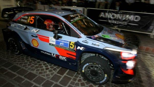 Rallye du Mexique: Neuville (Hyundai) devant, Loeb (Citroën) à la traîne