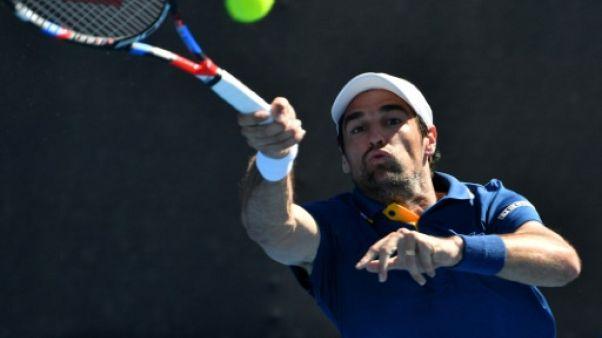 Tennis: Chardy OK, Paire KO à Indian Wells