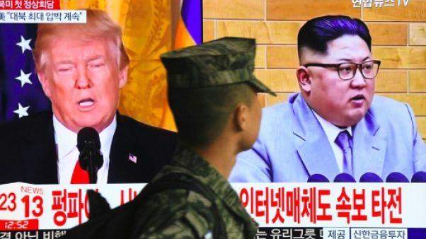 A quoi ressemblera un sommet entre Trump et Kim?