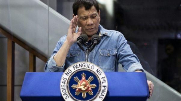 """Le président philippin a besoin d'un """"examen psychiatrique"""", selon l'ONU"""