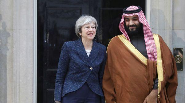 الدفاع يتصدر محادثات اليوم الأخير من زيارة ولي عهد السعودية لبريطانيا