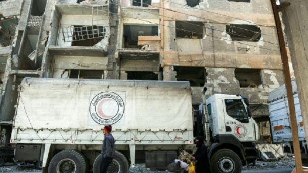 """Syrie: Damas poursuit son offensive, """"catastrophe médicale"""" dans la Goutha"""
