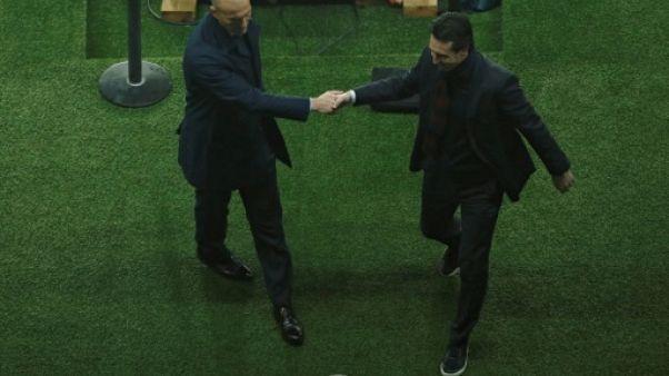 """Zidane: """"Moi, meilleur tacticien qu'Emery? Quelle bêtise"""""""