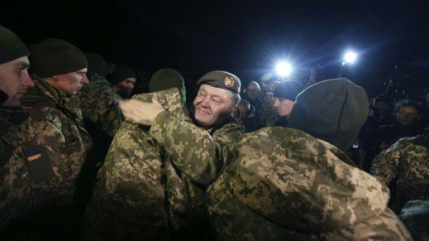 Ukraine: un négociateur accusé d'avoir voulu tuer Porochenko