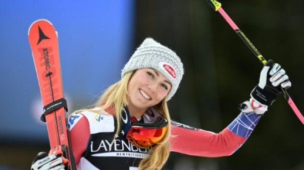Ski: l'Américaine Shiffrin assure un 2e gros globe, Worley à la peine  cristal