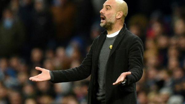 Ruban jaune: Guardiola condamné à 20.000 livres d'amende par la Fédération anglaise
