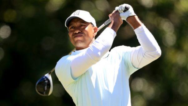 PGA: Tiger Woods leader provisoire du Valspar Championship à Tampa au 2e tour