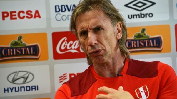 Mondial-2018: le Pérou peut battre tout le monde, dont la France, selon son sélectionneur