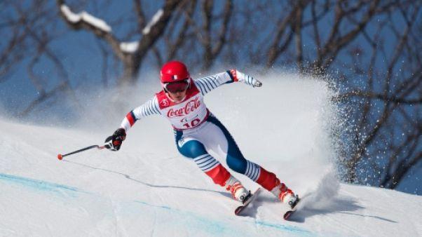Jeux Paralympiques: Marie Bochet en or en descente