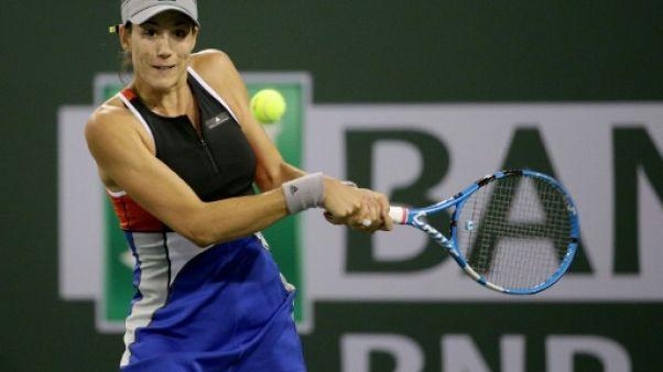 Tennis: Muguruza chute à Indian Wells, Kvitova se fait peur