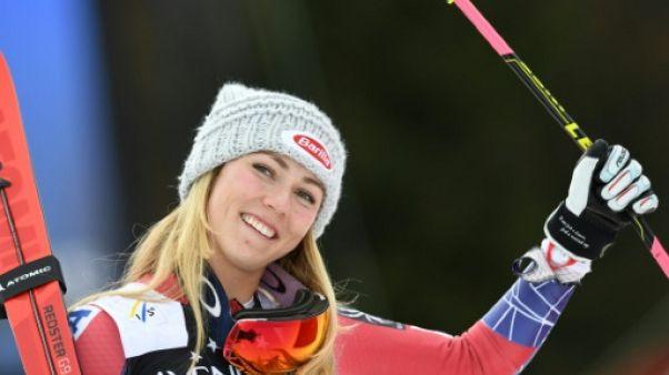 Ski: Shiffrin en tête après la 1re manche du slalom d'Ofterschwang