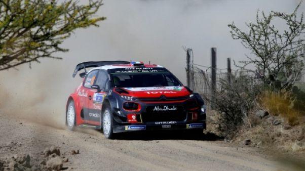 Rallye du Mexique: Loeb s'empare de la tête à l'issue de l'ES11