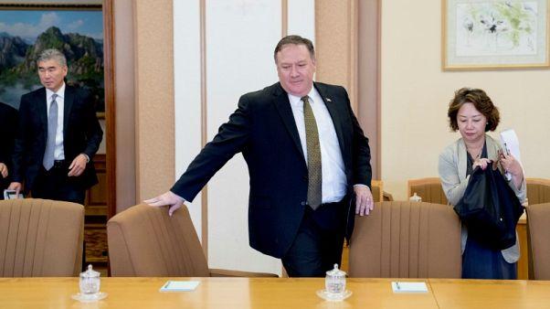 بومبيو يعلن إحراز تقدم بشأن الجدول الزمني لنزع سلاح بيونجيانج النووي
